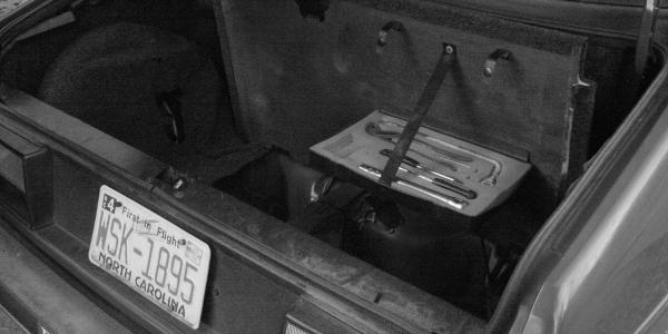 Auto Kofferraum